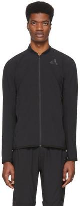 adidas Black Aero 3-Stripes Jacket