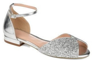 sparkly peep toe shoes