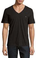 Diesel Hosios Cotton V-Neck T-Shirt