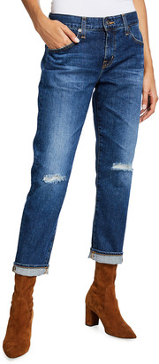 The Ex-Boyfriend Distressed Slim Jeans