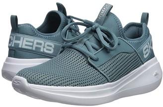 Skechers Go Run Fast - Valor (Blue) Women's Shoes