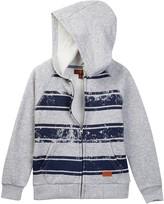 7 For All Mankind Stripe Hoodie (Little Boys)