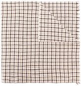Eleventy houndstooth pattern scarf