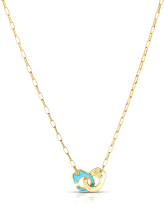 Audrey C. Jewels Partners in Crime Classic Necklace