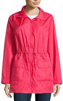 ST. JOHN'S BAY St. John's Bay Wind Resistant Water Resistant Raincoat