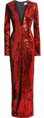 Alexandre Vauthier Sequined Jersey Gown
