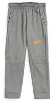 Nike Toddler Boy's Tapered Therma-Fit Fleece Pants