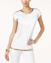 MICHAEL Michael Kors Metallic-Trim T-Shirt