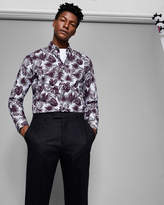 Ted Baker Phormal leaf print cotton shirt
