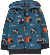 Gymboree Blue Helmet Zip-Up Fleece-Lined Hoodie - Infant, Toddler & Boys