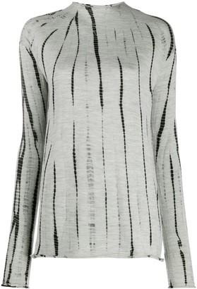 Suzusan Knitted Tie-Dye Top