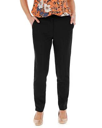 Capsule Tailored Tapered Trousers Petite