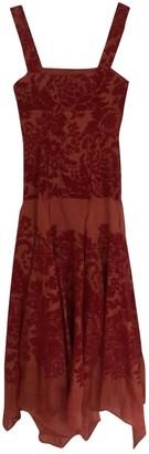 Rosie Assoulin Red Silk Dresses