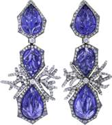 Arunashi Tanzanite And Diamond Earrings