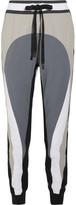 NO KA 'OI No Ka'Oi - Pana Color-block Stretch-shell Track Pants - Gray