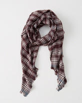 Abercrombie & Fitch Plaid Scarf