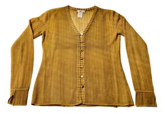 Fendi Gold Cashmere Knitwear