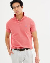 Polo Ralph Lauren Weathered Knit Polo Shirt