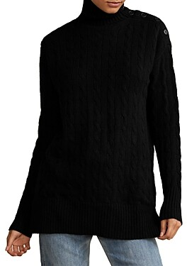 Polo Ralph Lauren Cable Knit Tunic Sweater