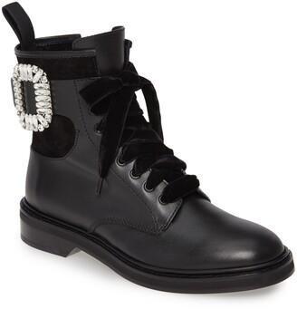 Roger Vivier Viv Rangers Buckle Boot