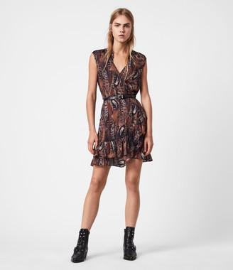 AllSaints Darley Fusion Dress