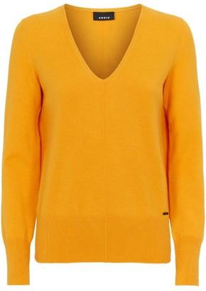 Akris Cashmere V-Neck Sweater
