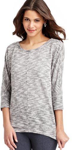 LOFT Boucle Textured Knit Tunic