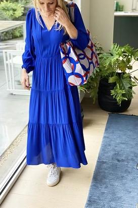 Suncoo Cade Dress Royal Blue - 0