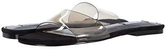 Steve Madden Bev Flat Sandal (Smoke) Women's Shoes