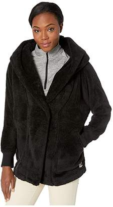 The North Face Campshire Fleece Wrap (Cedar Brown) Women's Coat
