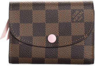 Louis Vuitton Damier Ebene Canvas Coin Purse