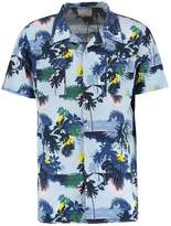 Knowledge Cotton Apparel Palm Sea All Over Shirt Skyway