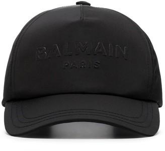 Balmain Embossed Logo Cap