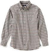 Daniel Cremieux Long-Sleeve Check Oxford Woven Shirt