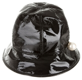 Chanel Patent Leather Bucket Hat