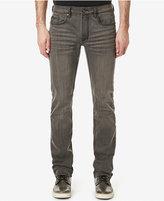 Buffalo David Bitton Men's Evan-X Slim Fit Stretch Sanded Medium Gray Jeans, A Macy's Exclusive Style