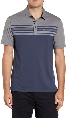Travis Mathew TravisMathew All Day Every Day Stripe Performance Polo