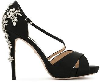 Badgley Mischka Fame embellished sandals