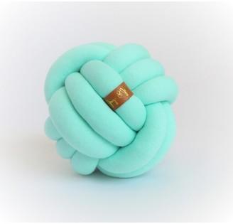 Juju & Jake Mini Knot Pillow - Mint