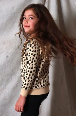 TINY TRIBE Kids' Ruffle Sleeve Sweatshirt