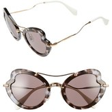 Miu Miu Women's 52Mm Sunglasses - Bordeaux