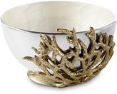 Julia Knight By the Sea Coral 7.5-Inch Bowl in Snow