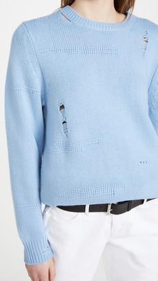 Helmut Lang Oversized Crew Sweater