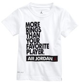 Jordan Boy's More Rings Than Your Favorite Player Dri-Fit T-Shirt
