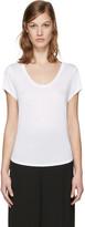 Alexander Wang White Jersey T-shirt