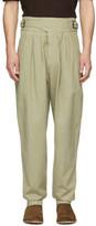 Isabel Marant Khaki Ogeny Trench Trousers