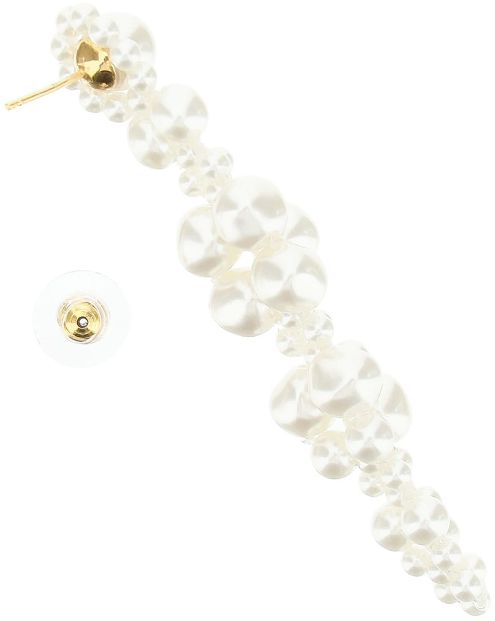 Thumbnail for your product : Simone Rocha Cluster Drip Earrings