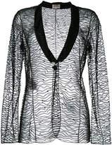Armani Collezioni embellished blazer