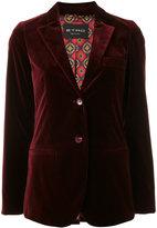 Etro velvet blazer - women - Cotton/Spandex/Elastane/Viscose - 40