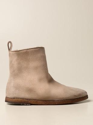 Marsèll Coltellara Ankle Boot In Suede Deerskin